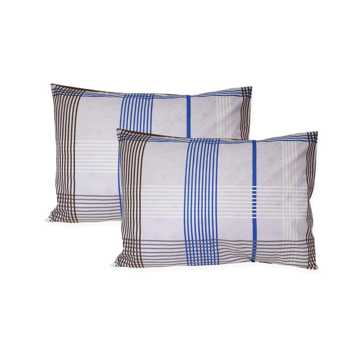 Leonado Vicenti  Kissenbezug Kissenhülle 40 x 60 cm 100/% Baumwolle 2er Pack